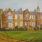 Old Parliment House Tasmania by Debra Lohrere