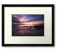 Taroona Sunrise Framed Print
