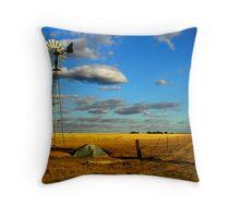 A Corrigin Windmill Throw Pillow