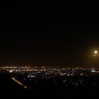 Brisbane City at night from Mt Coot-tha by flash62au