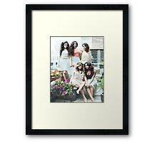 5H Peaceful Photoshoot Framed Print