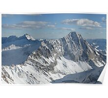 Colorado Rockies from Above Poster