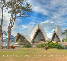 The Opera House - Sydney, Australia (Photo Finish) by Brian Farrell