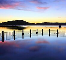 Tranquility at Yattalunga seascape by Leah-Anne Thompson