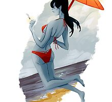 At the Beach by Faustice