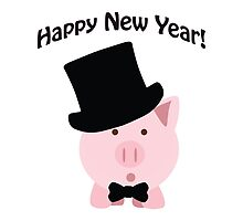 Happy New Year! Dapper Pig by Eggtooth