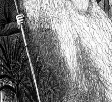 Charles Darwin Caricature 1873 Sticker