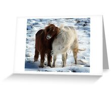 The Odd Couple Greeting Card