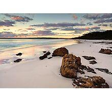 Hyams Beach Jervis Bay at sunrise  landscape seascape Photographic Print