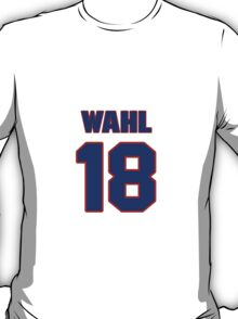 National baseball player Kermit Wahl jersey 18 T-Shirt