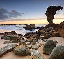 Beach Sunrise Noraville Central Coast NSW Australia seascape landscape by Leah-Anne Thompson