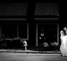 Angel on the street by tashunka