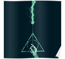 Expecto Patronum Harry Potter Deathly Hallows Poster