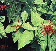 strange flowers by Laurie Lou McKern