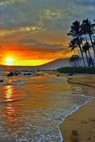 Maui Sunset 1 by LeGreg