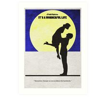 It's a Wonderful Life Art Print