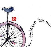 Unicycle Wisdom by dosankodebbie