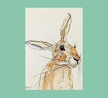 Hop Hare- Listening by lisaaddinsall