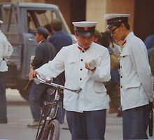 Beijing May 1981 -  Street Scene by Susan Moss