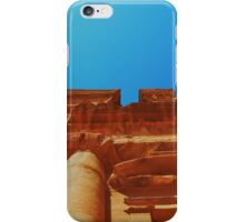 The Monastery At Petra iPhone Case/Skin