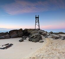 Redhead Beach, NSW Australia just before sunrise by Leah-Anne Thompson