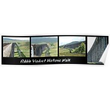 The Ribble Viaduct Historic Walk Poster