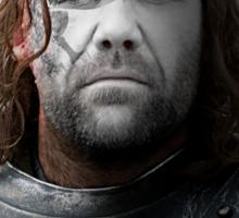 The Hound Sandor Clegane House War Paint Sticker