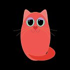 CAT RED ONE by Jean Gregory  Evans