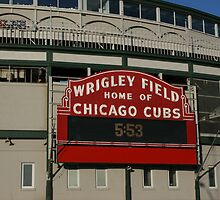 Wrigley Field, Chicago by cfam