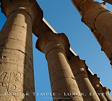 Karnak Temple - Luxor, Egypt (Photo Finish) by Brian Farrell