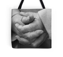 Old Hands Tote Bag