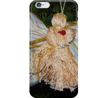 Christmas Angel iPhone Case/Skin