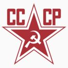 Russian Soviet Red Star CCCP (Clean) by createdezign