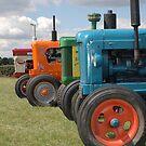 Tractors by Tony Hadfield