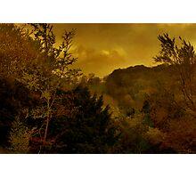 Sunset On Watlington Hill Photographic Print