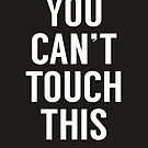 You can't touch this (black) by soltib