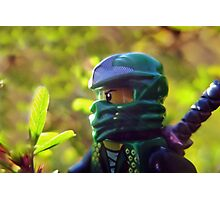 How to defeat Jungle Friends: Use a Green Ninja Photographic Print