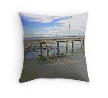Sandringham Pier Throw Pillow