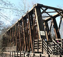 Old Railroad Trestle by Lynn Bawden