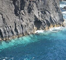 Basalt  Rock Formations by Malcolm Snook