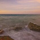 gantheaume rodcks sunset  by Elliot62