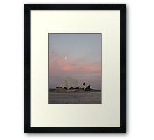 utzon sunset Framed Print