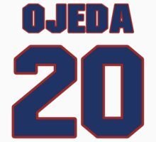 National baseball player Miguel Ojeda jersey 20 by imsport