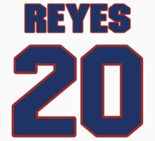 National baseball player Nap Reyes jersey 20 by imsport