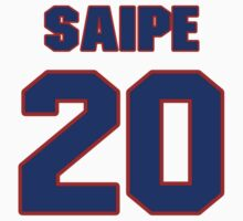 National baseball player Mike Saipe jersey 20 by imsport