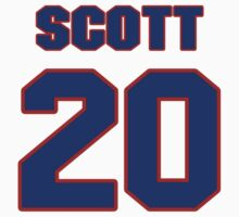 National baseball player Dick Scott jersey 20 by imsport
