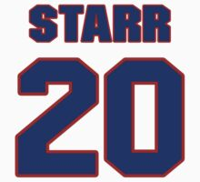 National baseball player Ray Starr jersey 20 by imsport