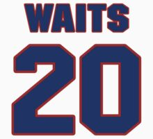 National baseball player Rick Waits jersey 20 by imsport