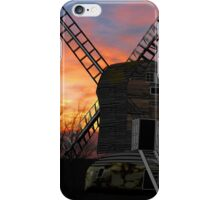 The Postmill (Black Mill) Mousehold Heath, Norfolk 1840 - all products bar duvet iPhone Case/Skin