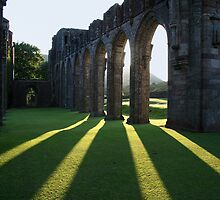 Llanthony Priory by Anthony Thomas